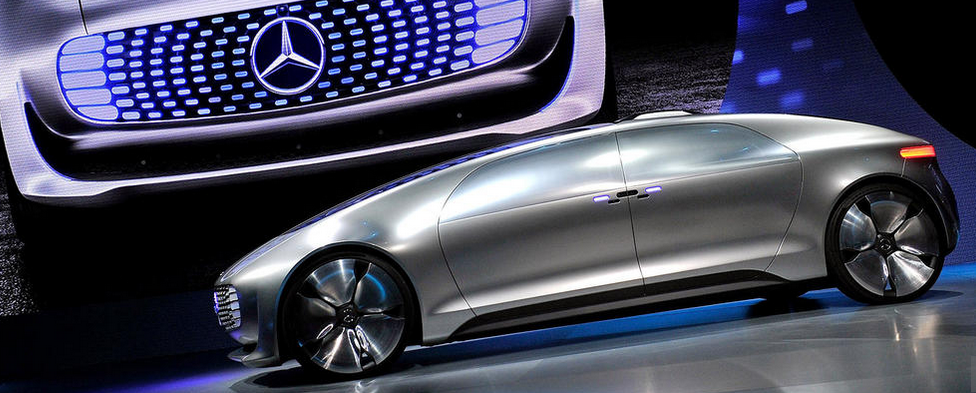 Ces 2015 Self Driving Concept Car Unveiled By Mercedes