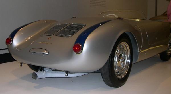 A 1955 Porsche 550 Spyder.