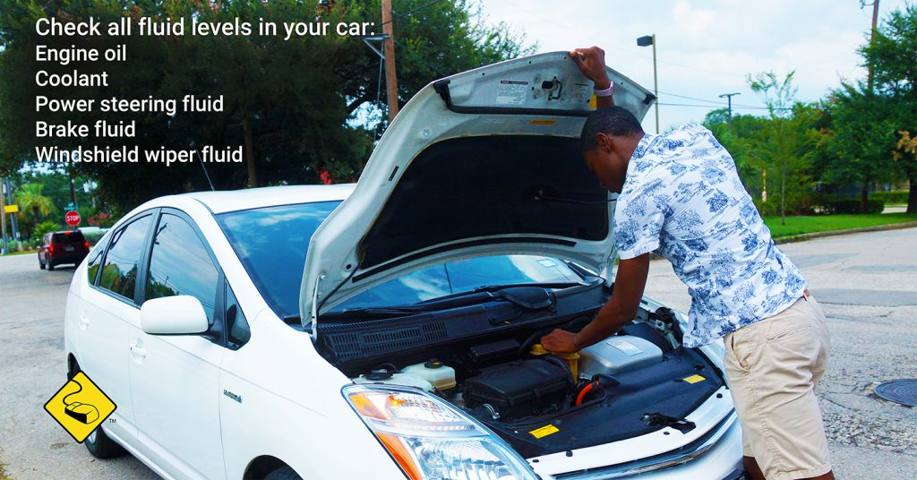 Car Care Tip: Check all fluids