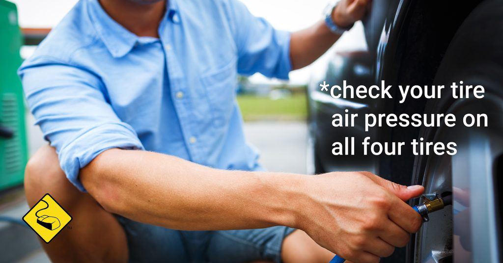 Car Care Tip: Check air pressure